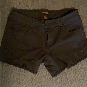 Blake denim shorts
